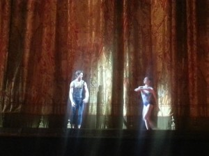 The Royal Ballet Company performing in Russia at the Bolshoi