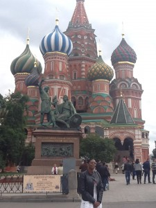 The Director at St Basil's Cathedral